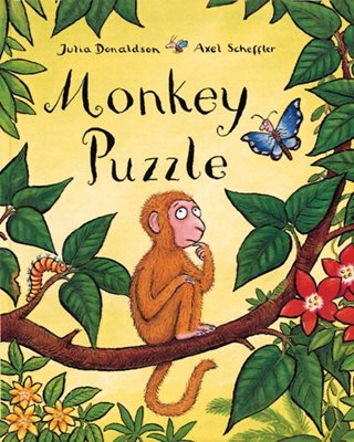 Book cover for Monkey Puzzle