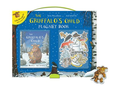 Book cover for The Gruffalo's Child Magnet Book