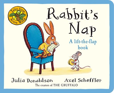 Book cover for Tales From Acorn Wood: Rabbit's Nap