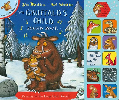 Book cover for The Gruffalo's Child Sound Book