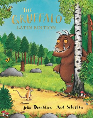 Book cover for The Gruffalo Latin Edition