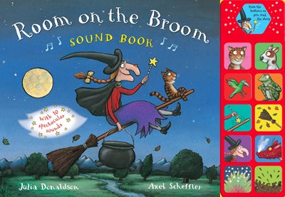 Book cover for Room on the Broom Sound Book