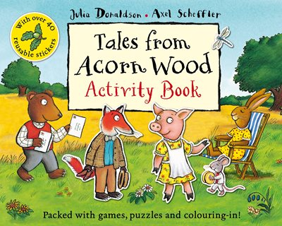 Book cover for Tales From Acorn Wood Activity Book