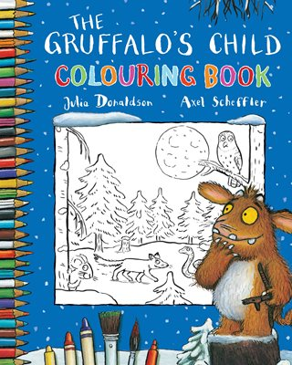 Book cover for The Gruffalo's Child Colouring Book