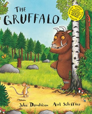 Book cover for The Gruffalo Big Book