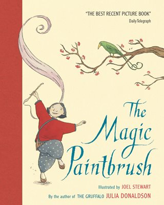 Book cover for The Magic Paintbrush