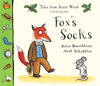 Book cover for Tales From Acorn Wood: Fox's Socks