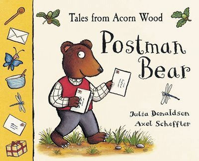 Book cover for Tales of Acorn Wood:Postman Bear(PB