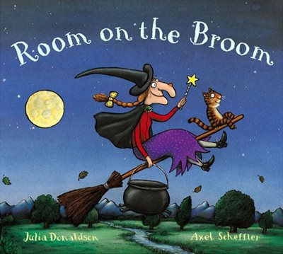 Book cover for Room on the Broom Big Book