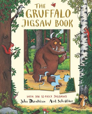 Book cover for The Gruffalo Jigsaw Book
