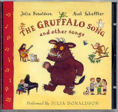 Book cover for The Gruffalo Song and Other Songs