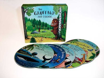 Book cover for The Gruffalo and Friends CD Box Set