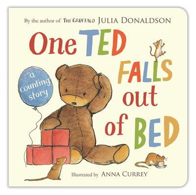 Book cover for One Ted Falls Out of Bed