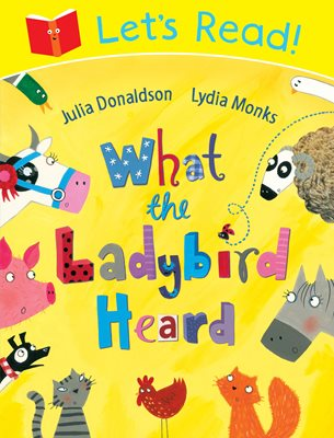Book cover for Let's Read! What the Ladybird Heard