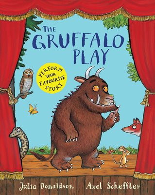 Book cover for The Gruffalo Play