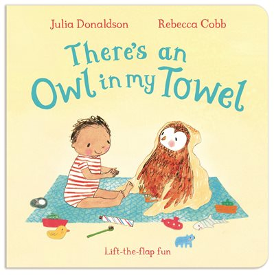 Book cover for There's an Owl in My Towel