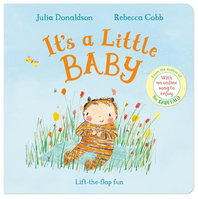Book cover for It's a Little Baby