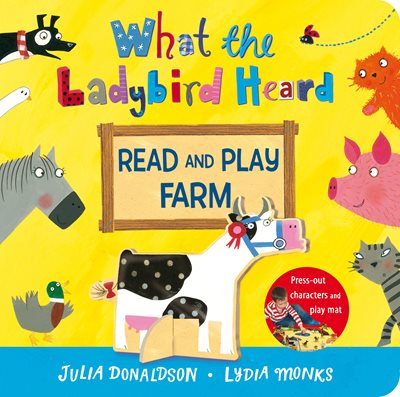 Book cover for What the Ladybird Heard Read and Play...