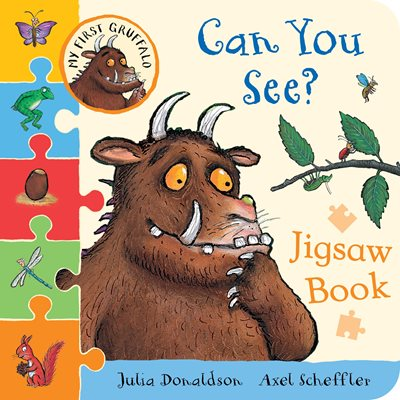 My First Gruffalo: Can You See? Jigsaw book