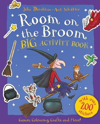 Book cover for Room on the Broom BIG Activity Book