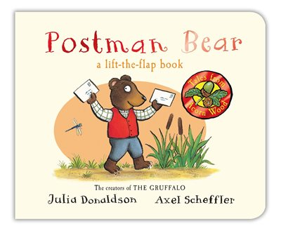 Book cover for Postman Bear