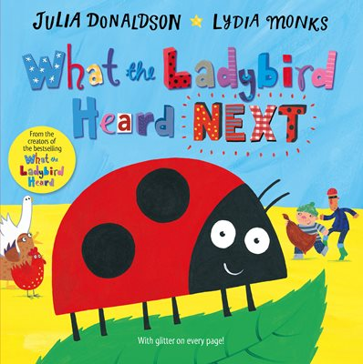 Book cover for What the Ladybird Heard Next