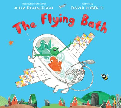 Book cover for The Flying Bath