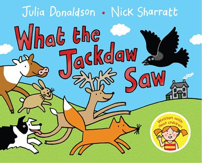 Book cover for What the Jackdaw Saw
