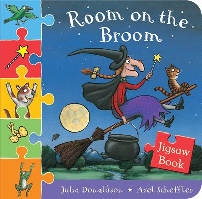 Book cover for Room on the Broom Jigsaw Book