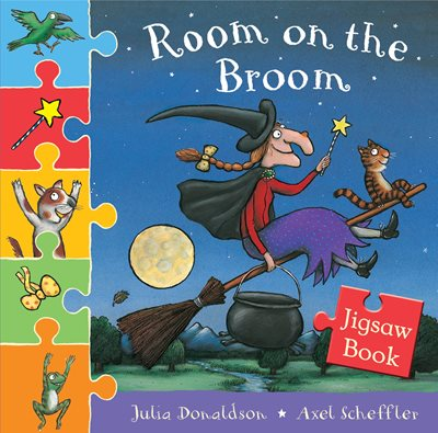 Room on the Broom Jigsaw Book