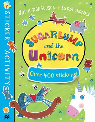 Book cover for Sugarlump and the Unicorn Sticker Book