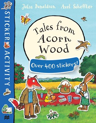 Book cover for Tales from Acorn Wood Sticker Book