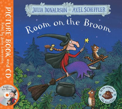 Book cover for Room on the Broom