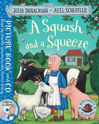 Book cover for A Squash and a Squeeze