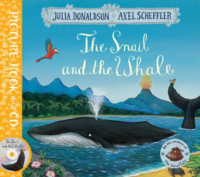 Book cover for The Snail and the Whale