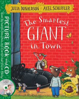 Book cover for The Smartest Giant in Town
