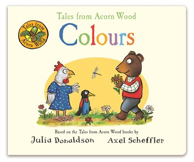 Book cover for Tales from Acorn Wood: Colours