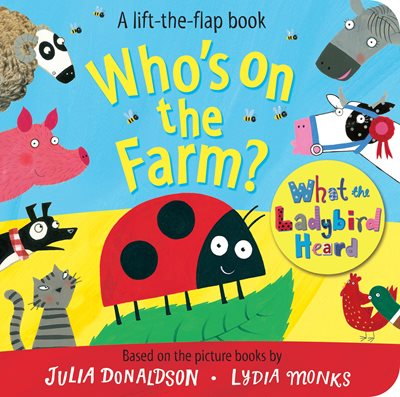 Book cover for Who's on the Farm? A What the...