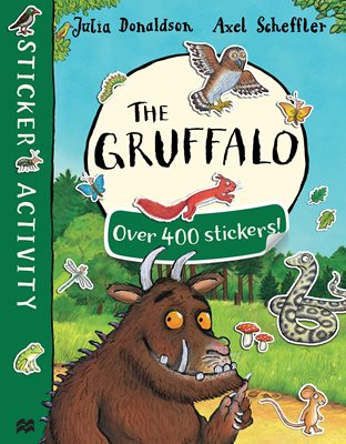 Book cover for The Gruffalo Sticker Book