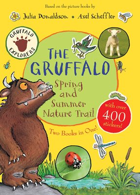 Book cover for The Gruffalo Spring and Summer Nature...