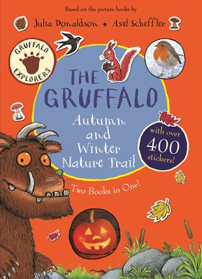 Book cover for The Gruffalo Autumn and Winter Nature...