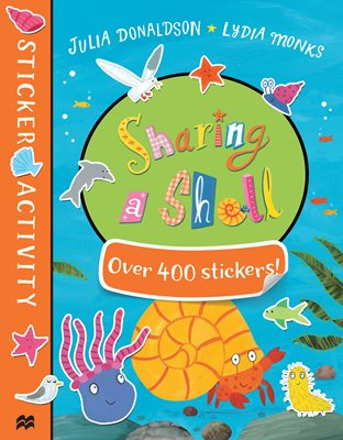 Book cover for Sharing a Shell Sticker Book