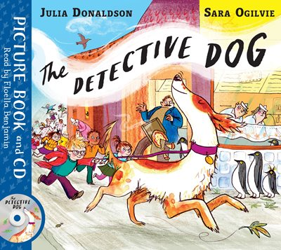 Book cover for The Detective Dog