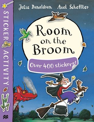 Book cover for Room on the Broom Sticker Book