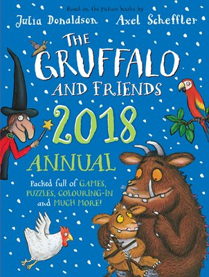 Book cover for The Gruffalo and Friends Annual 2018