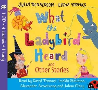 Book cover for What the Ladybird Heard and Other Stories CD