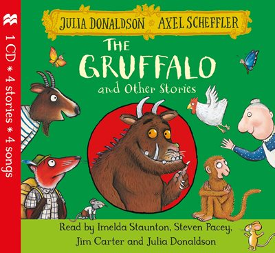 Book cover for The Gruffalo and Other Stories CD