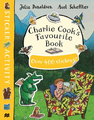 Book cover for Charlie Cook's Favourite Book Sticker...