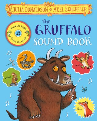 Book cover for The Gruffalo Sound Book