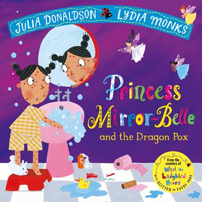 Book cover for Princess Mirror-Belle and the Dragon Pox